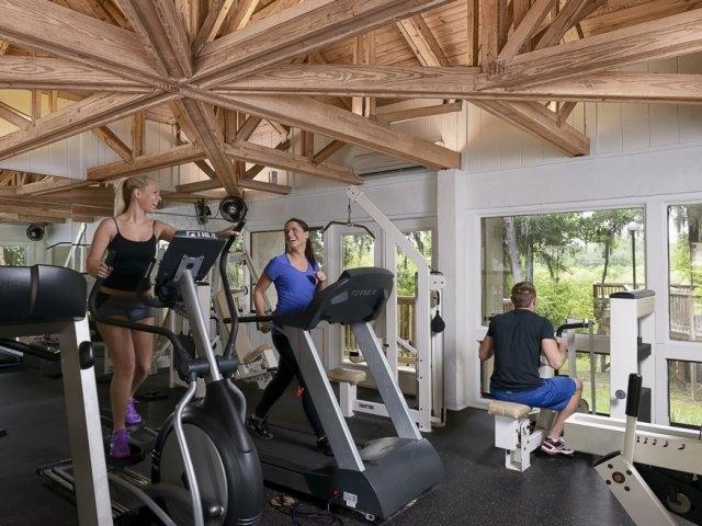 Lakewood Villas Apartments Gym