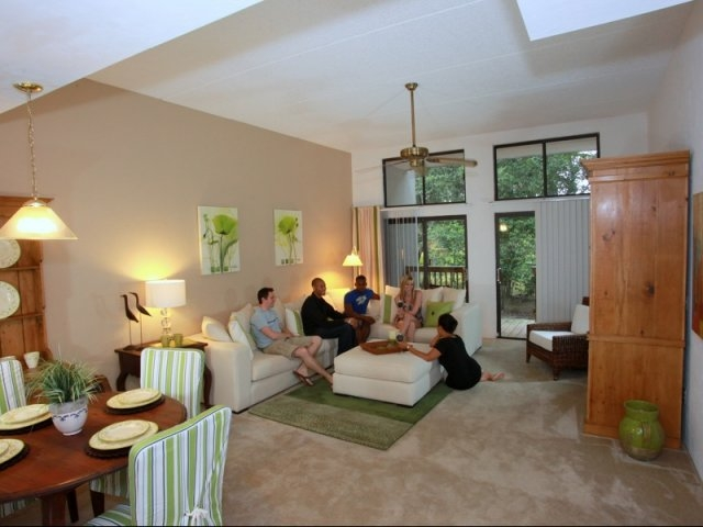 Lakewood Villas Apartments Living Room