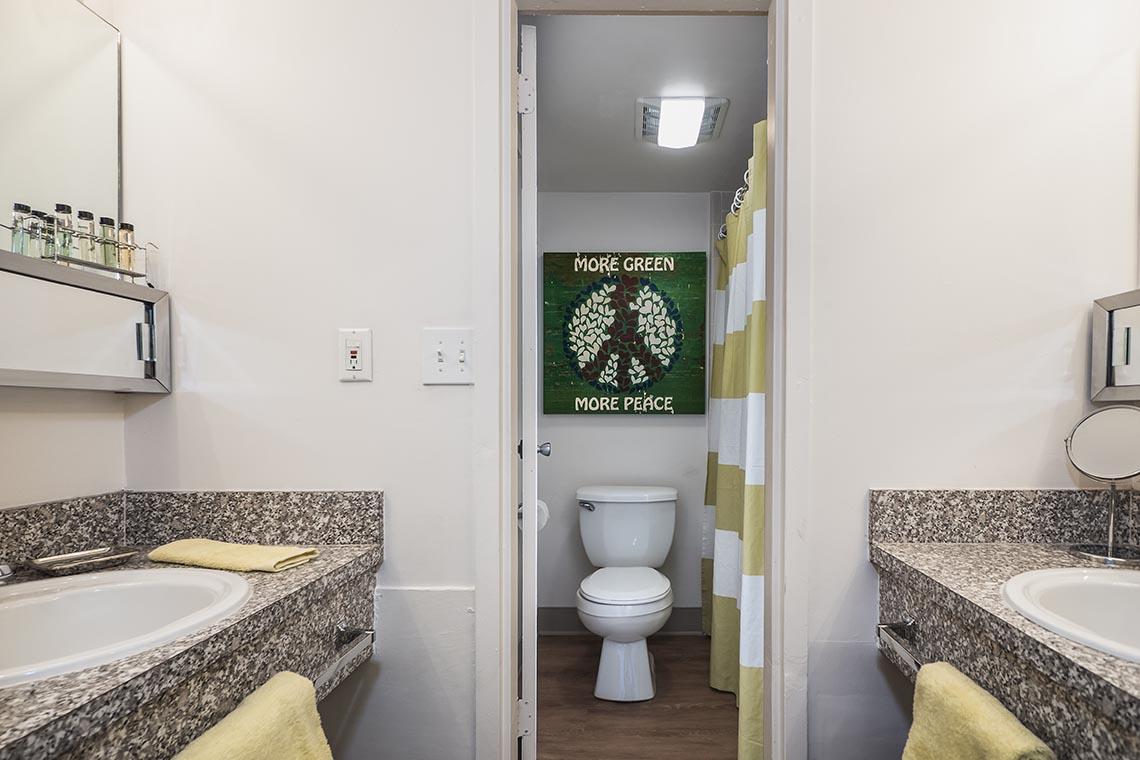 Courtyard Apartments Bathroom 013