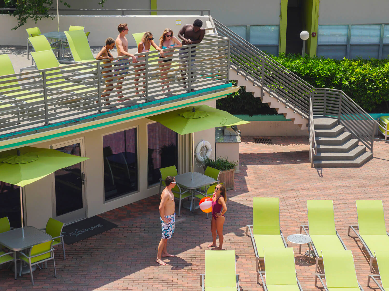 Courtyard Apartments Pool Deck 026