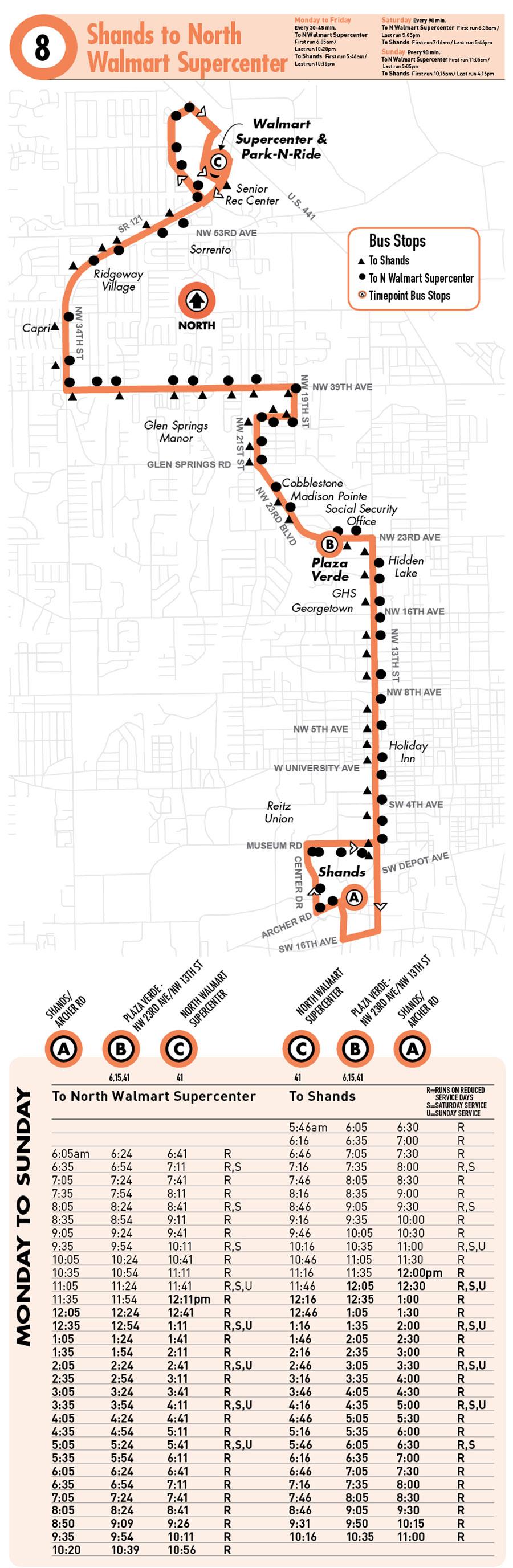 Gainesville Bus Routes | RTS | Gainesville Apartments