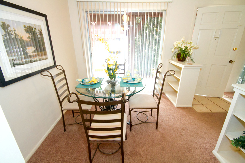 Camelot Apartments Dining Room