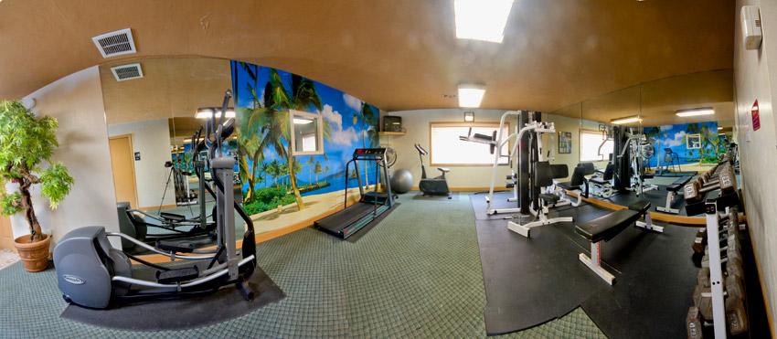 Camelot Apartments Gym