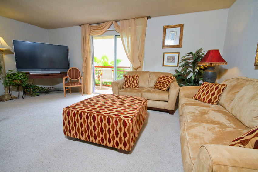 Cazabella Apartments Gainesville Living Room