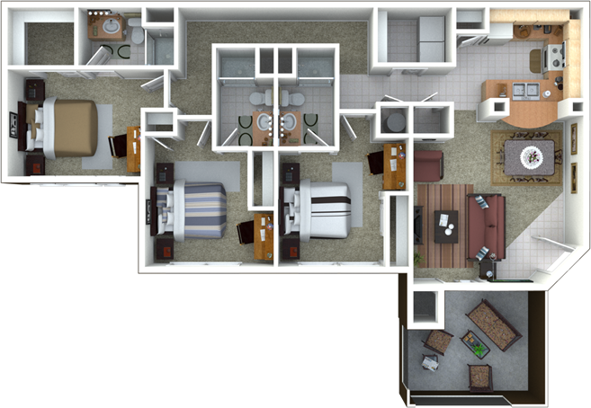 Campus Lodge Apartments Student Housing Gainesville
