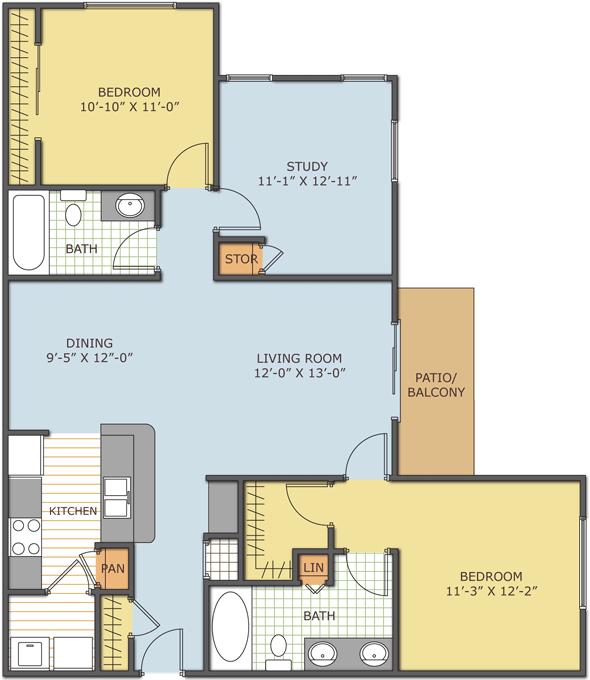 Paddock Club Apartments: The Retreat At Magnolia Parke